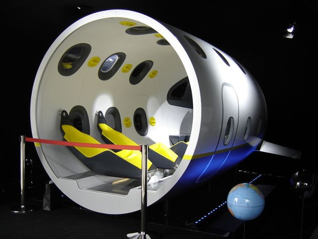 space tourism aircraft