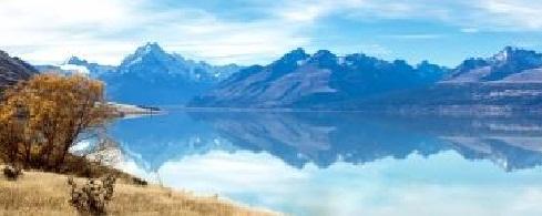North-West Ridge of Mt Aspiring New Zealand