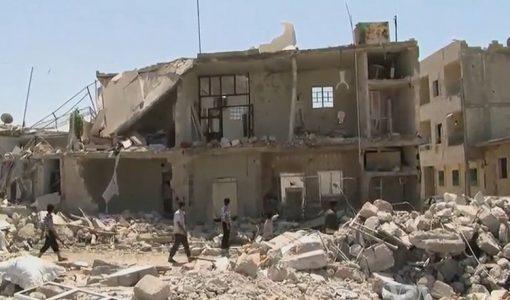 building-in-syria-war