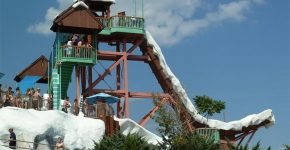 Summit Plummet at Blizzard Beach, Florida