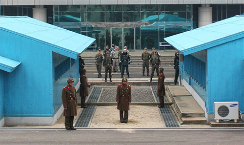 North and South Korea's DMZ