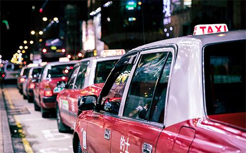 Broken taxi meters