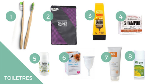 Travel with zero-waste essentials