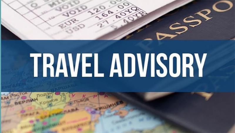 Raised Travel Advisory