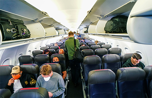 People are still fearful of flying