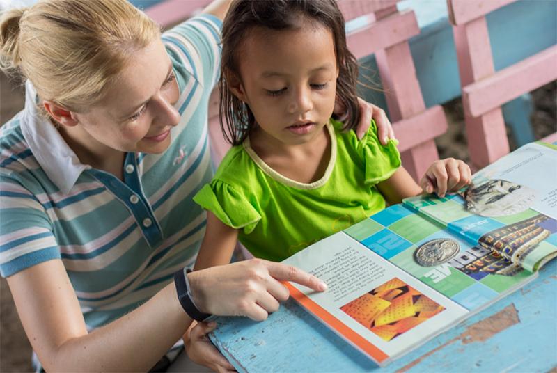 Volunteering as Teacher