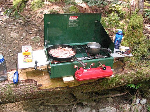 Cooking on Camp