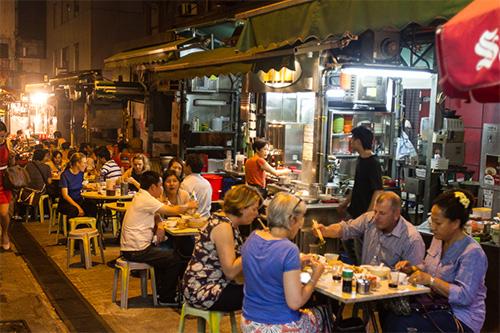 street foods HK
