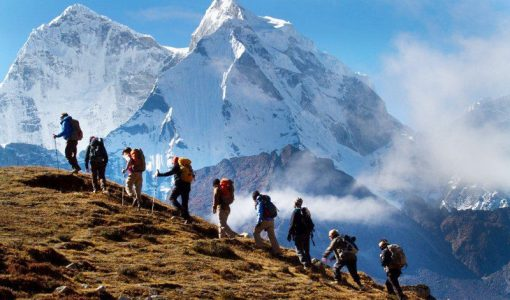 Hiking in Group