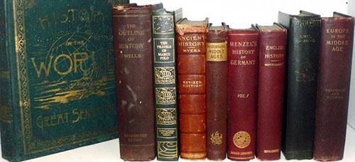 Historical Books Travel