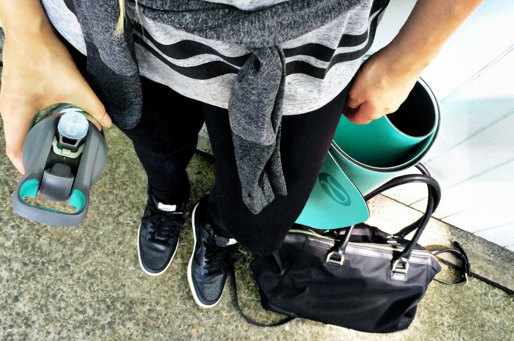 Travel in exercise gear