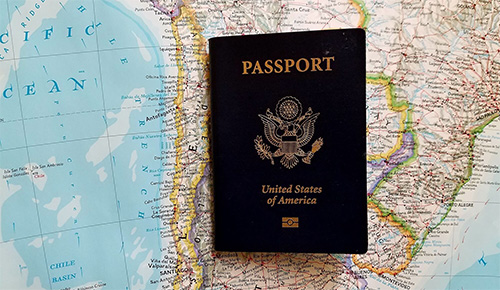 Your passport must be ready
