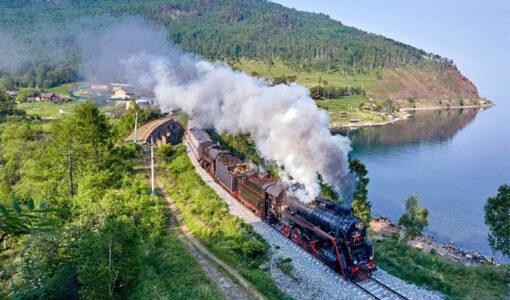 Log Train Rides