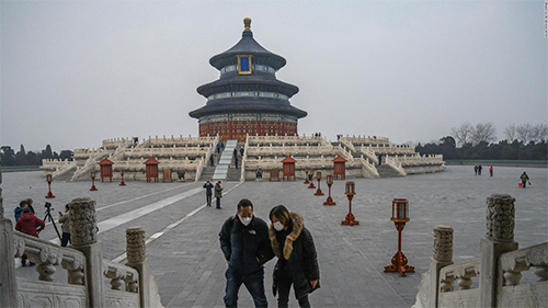 Tourism sites begin to recover