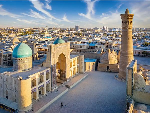 Uzbekistan historic place