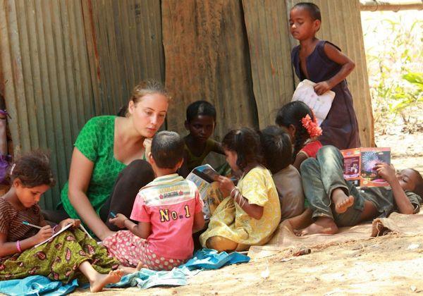 Volunteering as Teacher You can help poor communities